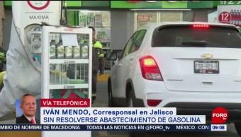 Segunda semana de desabasto en Jalisco