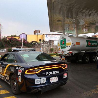 La Secretaría de Seguridad vigila las gasolineras en la Ciudad de México