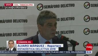 Semáforo Delictivo reporta 28 mil 816 homicidios en 2018