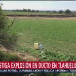 SFP investiga posibles faltas administrativas en explosión de Tlahuelilpan