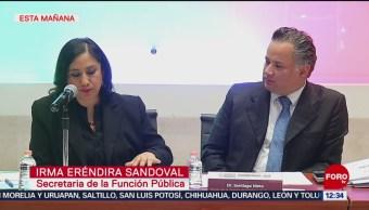 SFP y Hacienda firman convenio contra corrupción