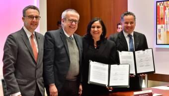 SFP Y SHCP firman convenio de colaboración