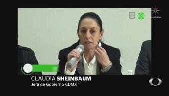 Sheinbaum advierte que no tolerará corrupción dentro del Cuerpo de Bomberos