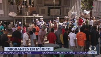 Sheinbaum descarta influenza entre migrantes recién llegados a CDMX