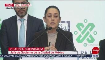 Sheinbaum insiste en que haya presencia de c en calles de CDMX