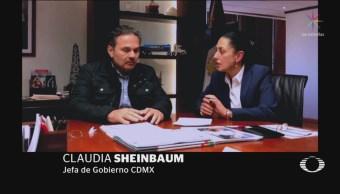 Sheinbaum Se Reúne Director De Pemex