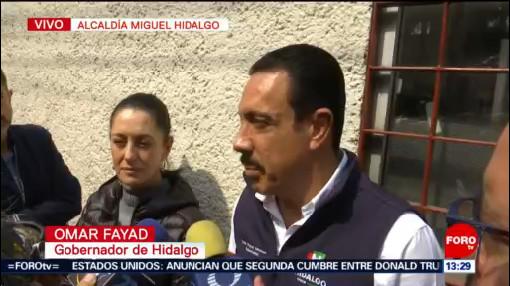 Sheinbaum supervisa atención a heridos por explosión en Hidalgo