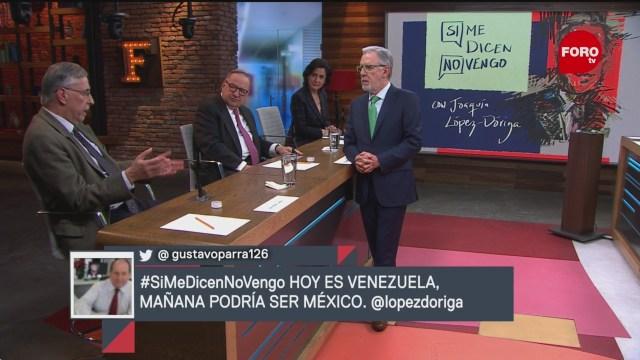 Foto: Si Me Dicen No Vengo Joaquín López-Dóriga 24 de Enero 2019
