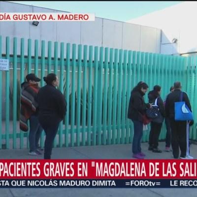 Siete personas de Tlahuelilpan siguen hospitalizadas en Magdalena de las Salinas
