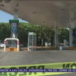 Sigue desabasto por nuevo esquema para distribuir gasolina en México