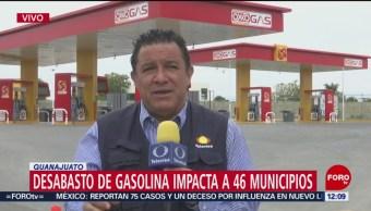 Sigue el desabasto de gasolina en Guanajuato
