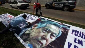 Dan plazo de 48 horas para definir cárcel donde irá Fujimori