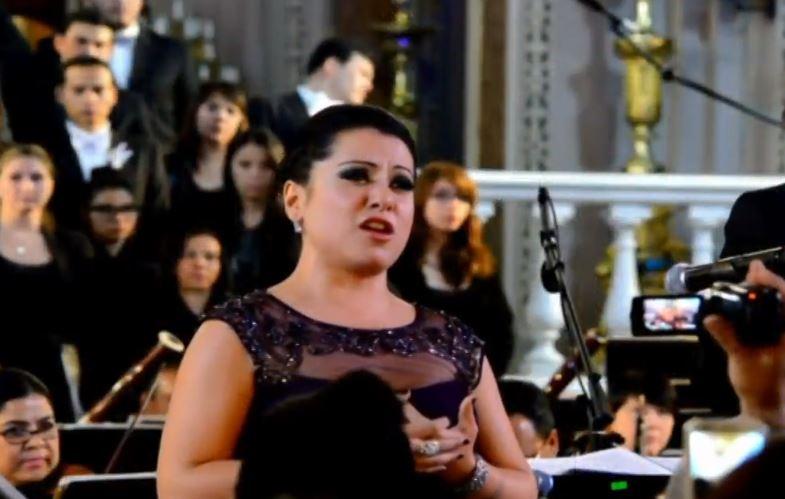 Foto: María Katzarava, soprano mexicana, triunfando en Scala de Milán