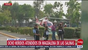 Suman 12 personas atendidas en Magdalena de las Salinas