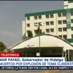 Suman 71 Muertos Por Explosión En Hidalgo: Omar Fayad, Suman 71 Muertos Por Explosión En Hidalgo, Omar Fayad, Gobernador De Hidalgo, 71 Muertos, 76 Heridos