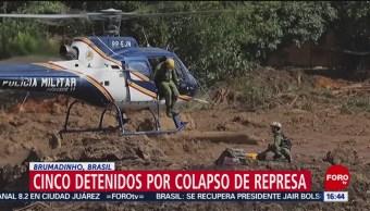 Foto: Suman 84 muertos por colapso de presa en Brumadinho, Brasil