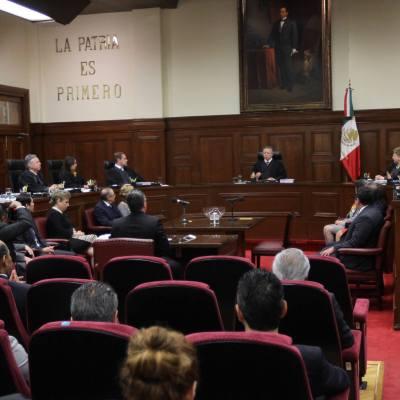 Ministros de la Corte reducen su salario 25 por ciento