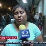 Testimonios de familiares de heridos por explosión en Hidalgo