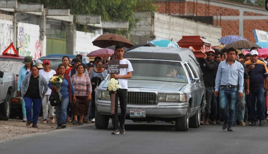 Familias viven su luto, a una semana de la explosión en Tlahuelilpan