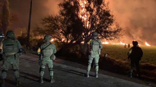 Foto: Año Explosión Tlahuelilpan 16 Enero 2020