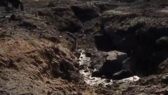 Vecinos de Tlaxiaca toman distancia de ductos tras incendio en El Durazno