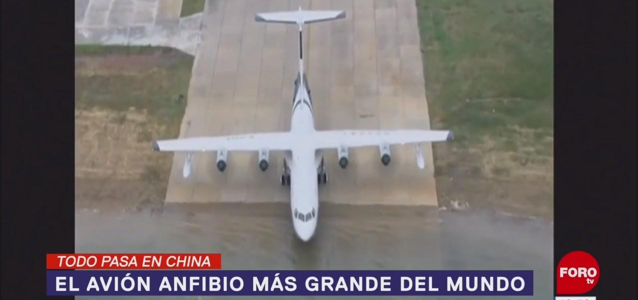 Todo Pasa En China: El avión anfibio más grande del mundo