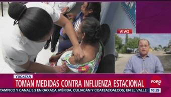 Toman medidas contra influenza estacional en Yucatán
