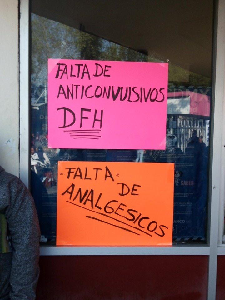 Trabajadores del Hospital Balbuena protestan