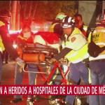 Trasladan a heridos de explosión en Tlahuelilpan a hospitales de CDMX