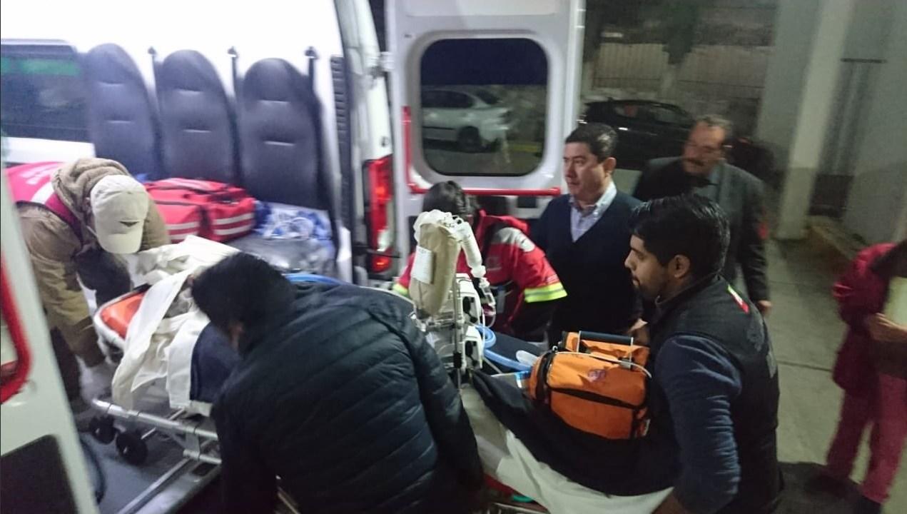 xplosión Tlahuelilpan; trasladan tres heridos la CDMX