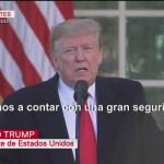 Foto: Trump anuncia trato para abrir temporalmente el Gobierno