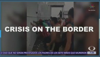 Trump hace propaganda en redes sociales por el muro fronterizo