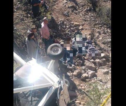 mueren dos personas caer avion ultraligero en bacadehuachi sonora