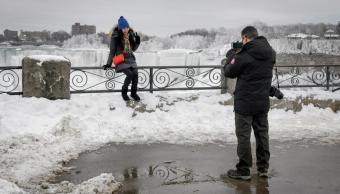 Fotos: Cataratas del Niágara a punto de congelarse