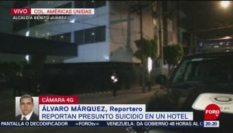 Hombre Se Suicida Hotel Alcaldía Benito Juárez