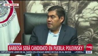 Va Barbosa, Y Va Con Todo, Presidenta Nacional De Morena, Yeidckol Polevnsky, Miguel Barbosa, Gubernatura De Puebla, Puebla