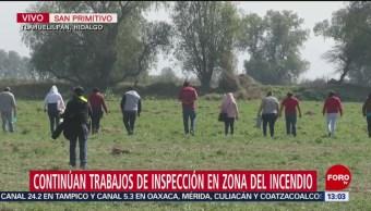 Vecinos colaboran en búsqueda de indicios en Hidalgo