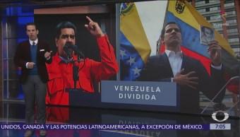 Venezuela tiene dos presidentes: Nicolás Maduro y Juan Guaidó