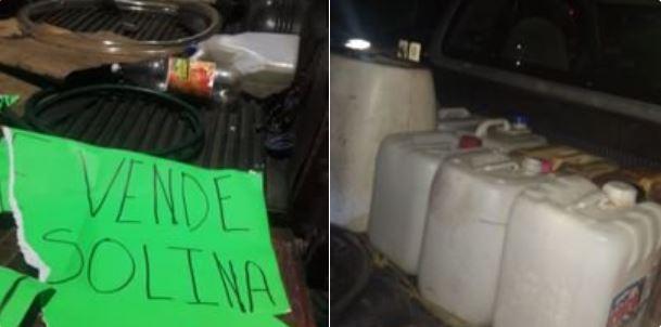 Detienen a un hombre por venta ilegal de combustible en CDMX