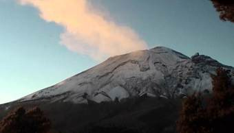 Volcán Popocatépetl registra 231 exhalaciones en 24 horas