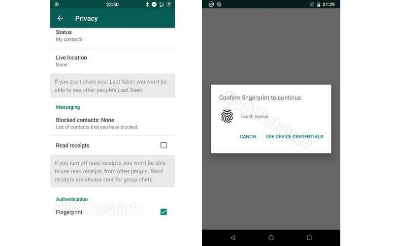 captura-pantalla-nueva-funcion-whatsapp-protegera-mensajes-con-huella-dactilar