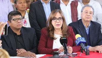 Yeidckol Polevnsky pide paciencia a mexicanos por desabasto de gasolina
