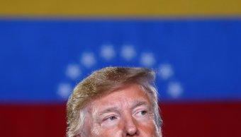 Donald Trump,presidente de Estados Unidos 18 febrero 2019
