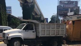 Foto: Accidente en Acapulco, 28 de febrero 2019. Twitter @PC_Guerrero