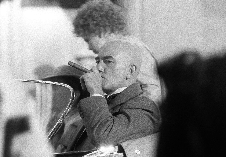 FOTO Muere el actor británico Albert Finney Nueva York 1981