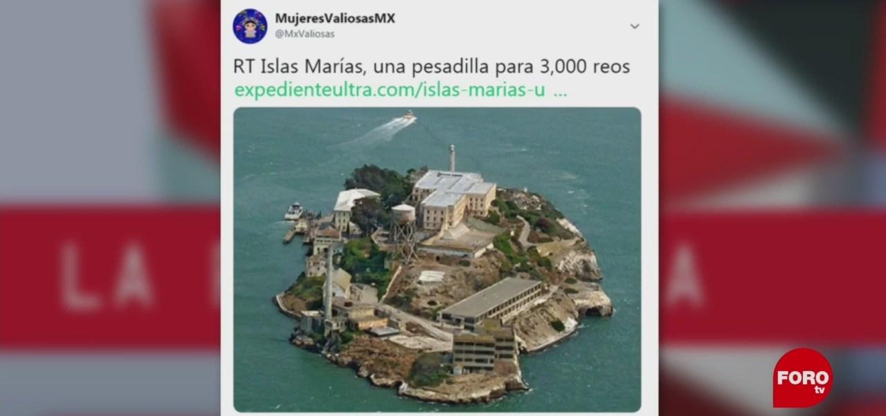 Foto: Alcatraz Islas Marías Paparrucha Del Día 18 de Febrero 2019