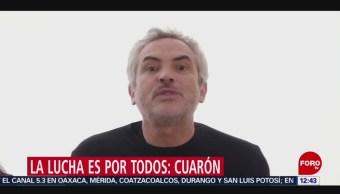 Alfonso Cuarón se solidariza con lucha de trabajadoras domésticas