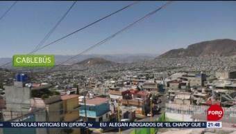 Foto: Cablebús Ciudad De México CDMX 20 de Febrero 2019