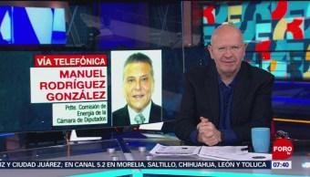 Alistan reforma a la ley de Petróleos Mexicanos