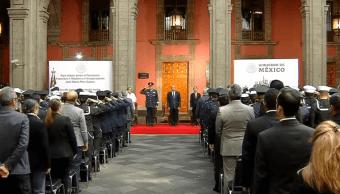 FOTO AMLO conmemora muerte de Francisco I. Madero cdmx 22 febrero 2019